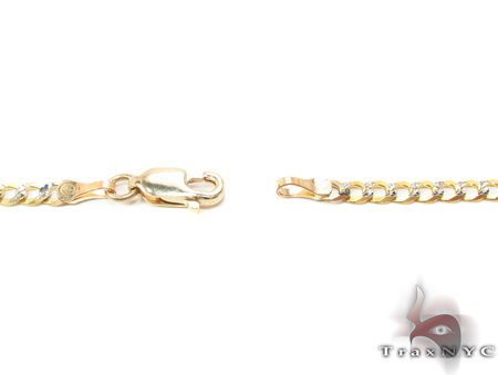 14K Gold Cuban Chain 18 Inches 3mm 5.4 Grams Gold