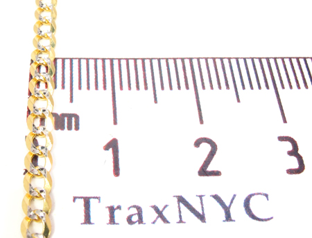 14K Gold Cuban Chain 22 Inches 3mm 6.5 Grams Gold