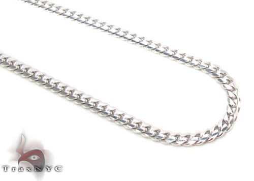 14K Gold Cuban Chain 26 Inches, 2.5mm, 14.1 Grams Gold
