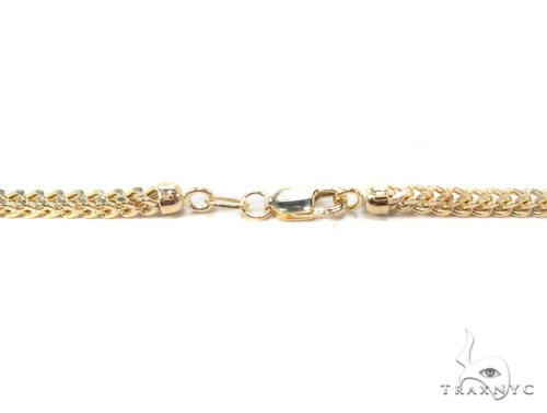 14K Gold Franco Chain 34 Inches 3mm 29.3 Grams Gold