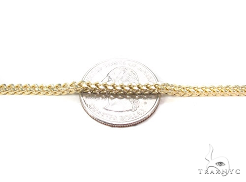14K Gold Franco Chain 38 Inches 2.5mm 18.6 Grams Gold