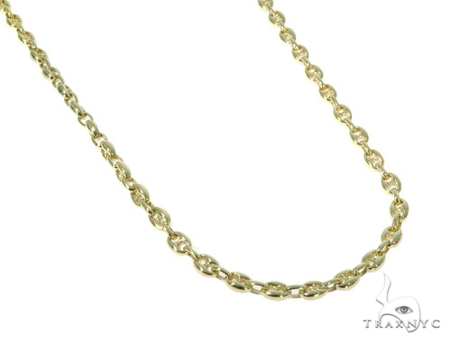 14K Gold Gucci Chain 30 Inches 5.1mm 58.7 Grams 41379 Gold