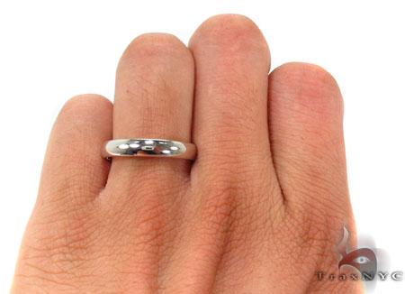 14K Gold Plain Ring 31740 Style
