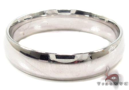14K Gold Plain Ring 31743 Style