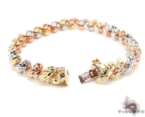 14K Multi-Color Bracelet 34950 Gold