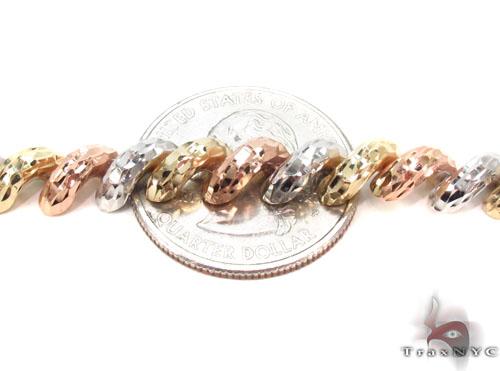 14K Multi-Color Bracelet 34951 Gold