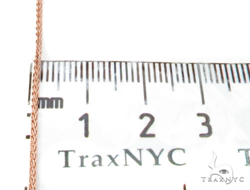 14K Rose Gold Chain 20 Inches, 2mm, 3.7 Grams Gold