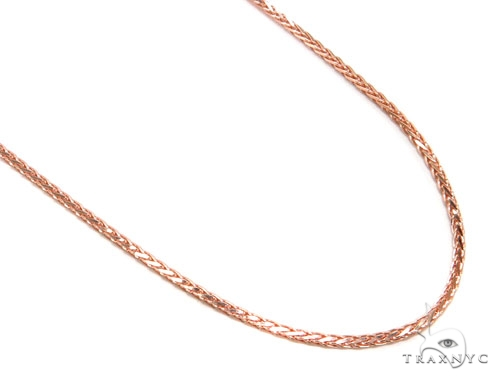 14K Rose Gold Chain 24 Inches, 2mm, 4.4 Grams Gold