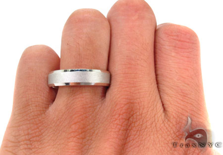 14K White Gold Fancy Ring 31748 Style