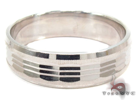 14K White Gold Fancy Ring 31763 Style
