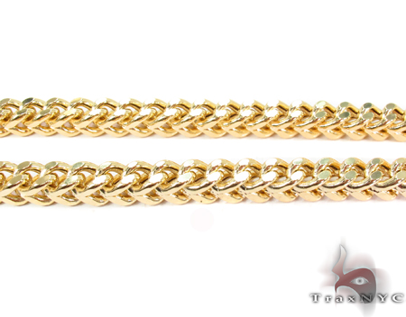 14K Yellow Gold Franco Chain 20 Inches 6mm 61.8 Grams Gold