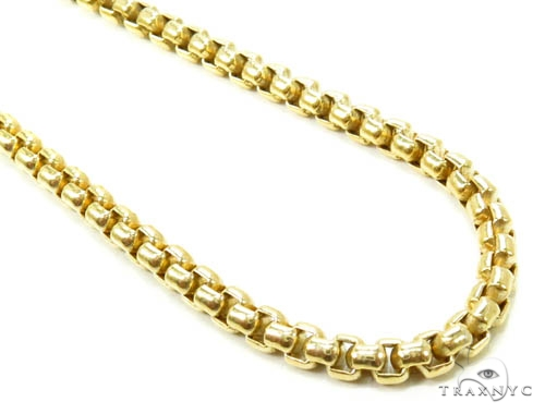 gauge chain gold v chains mariner necklace p in necklaces