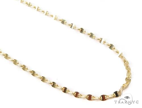 14K Yellow Gold Chain 20 Inches 1.5mm 2.6 Grams Gold