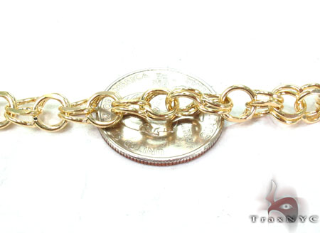 14K Yellow Gold Charm Bracelet Gold