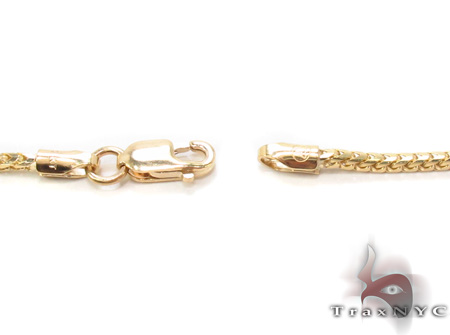 14K Yellow Gold Franco n 20 Inches, 1.5mm, 6.99Grams Gold