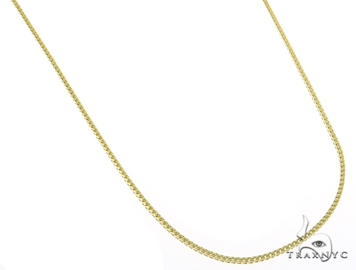 14K Yellow Gold Franco n 18 Inches, 1.5mm, 6.46Grams Gold