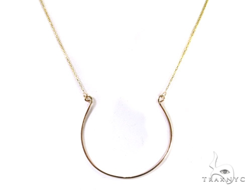 14K Yellow Gold Necklace 37505 Gold