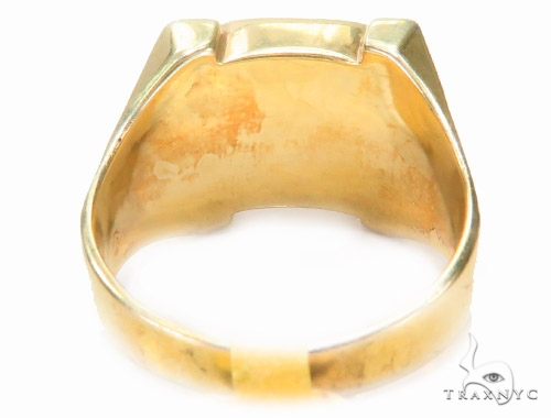 14K Yellow Gold Ring Metal