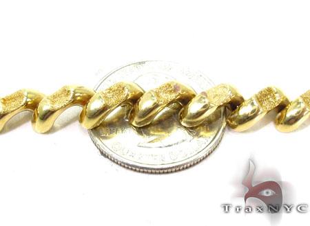 14K Yellow Gold Sain Marco Matte Bracelet Gold