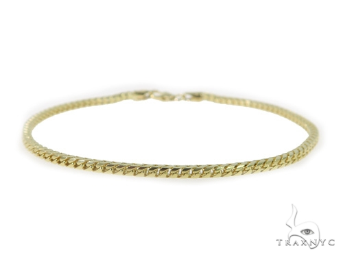 14K Yellow Franco Gold Bracelet 49502 Gold