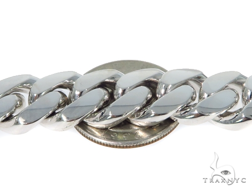 14k Cuban/Curb Gold Bracelet 49061 Gold