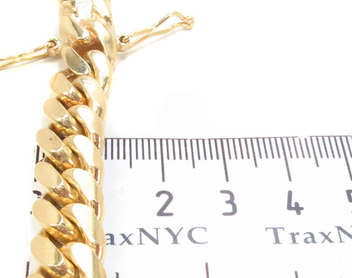 14k Gold Cuban Bracelet 34627 Gold