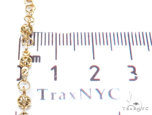 14k Gold Rosary Chain 28 Inches 3mm 9.8 Grams 43025 Gold