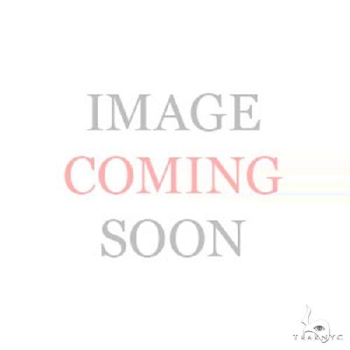 14k White Gold Diamond Oval Hoop Earrings Stone