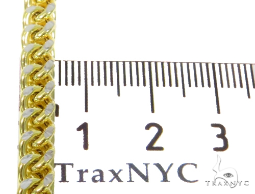 10k Yellow Gold Franco Chain 36 Inches 4mm 62.8 Grmas 44682 Gold