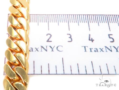 14k Yellow Gold Miami Cuban Gold Bracelet 44497 Gold