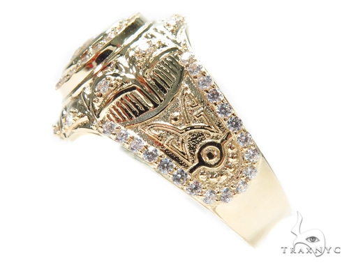 14k Yellow Gold Ring 41236 Metal