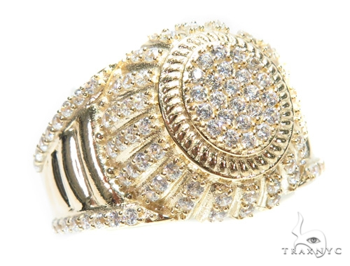 14k Yellow Gold Ring 41242 Metal