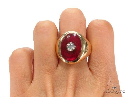 14k Yellow Gold Ring 43744 Metal