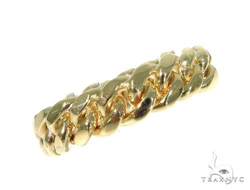14k Gold 6.5mm Miami Cuban Link Ring 45420 Metal