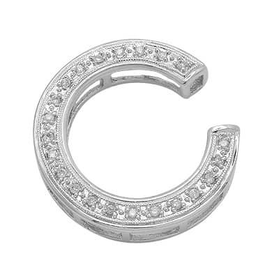 C Letter In Diamond Diamond Letter ...
