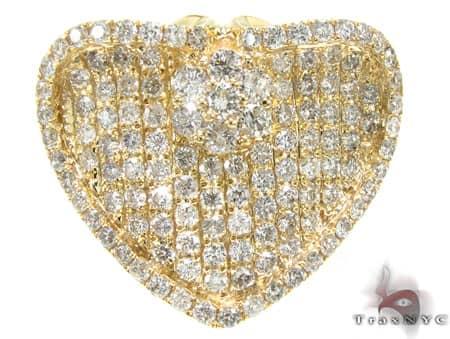 YG Diamond Heart Ring Anniversary/Fashion