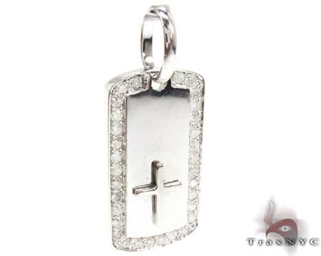 WG Crucifix Dog Tag Metal