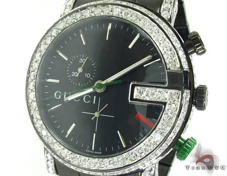 iced out gucci watch mens gucci stainless steel