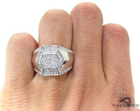 Mens Jubilee Ring Stone