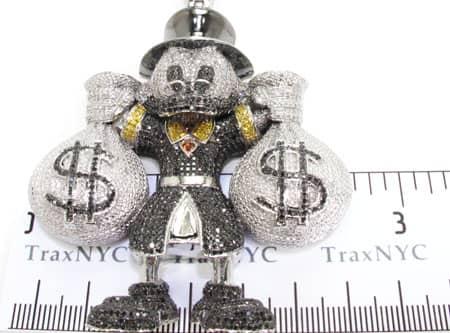 Custom Jewelry - Scrooge McDuck Pendant 2 Metal