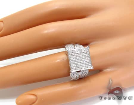 WG Side Butterfly Ring Engagement