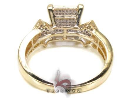YG White Diamond Ring Anniversary/Fashion