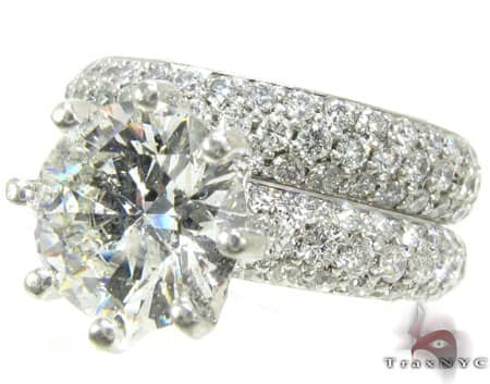 Lux Platinum Engagement Set Engagement