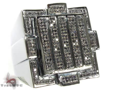 BG Black Diamond Strips Ring Stone
