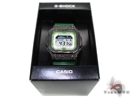 Black Silver&CZ G-Shock GLX5600A-3 G-Shock