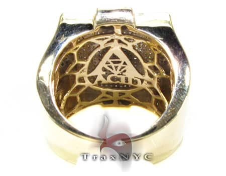 Tri Color Athens Ring Stone