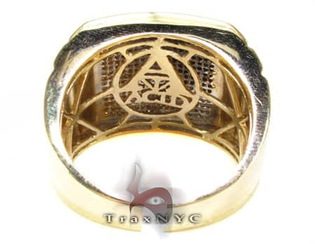 Tri Color Knight Ring Stone