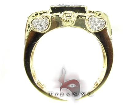 Multi Color Rifle Ring Stone