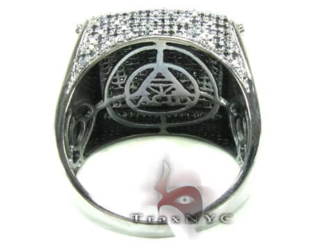Black Diamond Harp Ring Stone