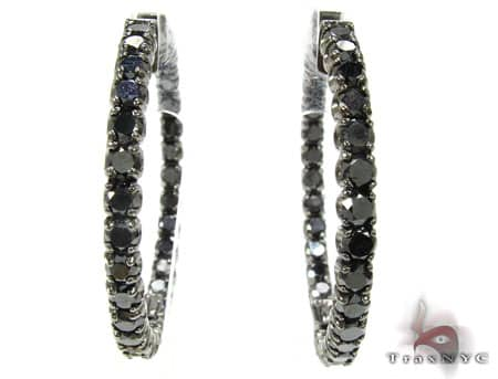 Black Diamond Hoops Style
